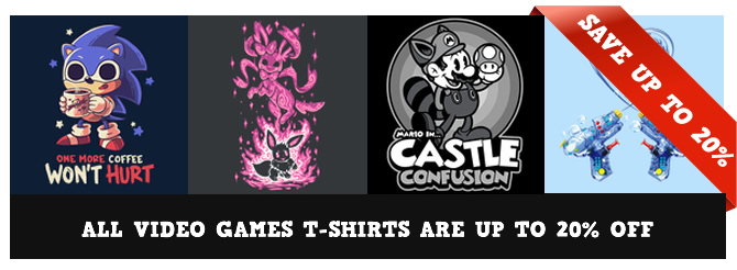 Video Games Shirts