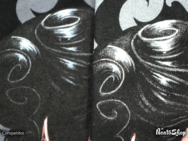 Close up of the red queen hair